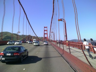 Golden Gate Bridge Warped