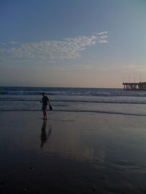 Пляж Венис-бич, Лос-Анджелес. Venice, California