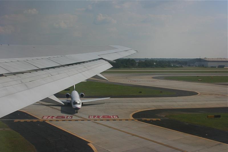 Take off, Atlanta Airport