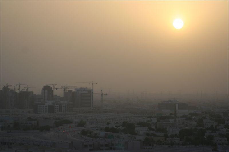 6 утра в Дубае