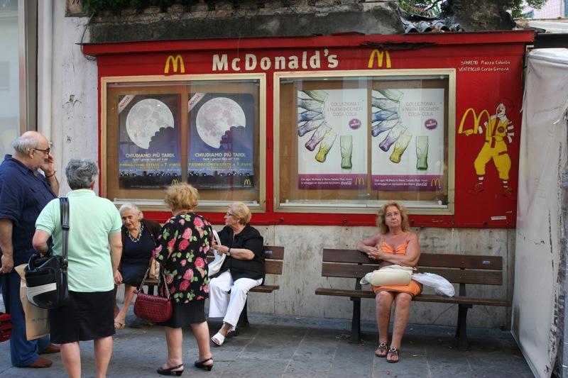 McDonald's, Sanremo (Сан-Ремо)
