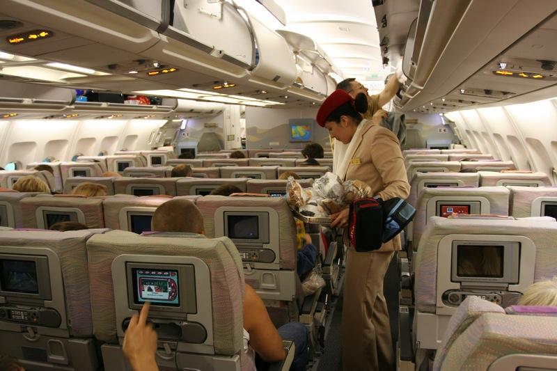 Салон Airbus A330-200 Emirates