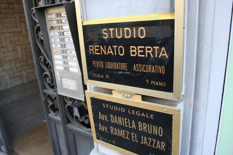 Таблички в Сан-Ремо. Sanremo