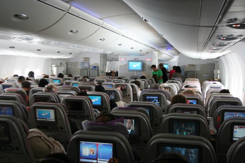 Салон Airbus A380 Emirates