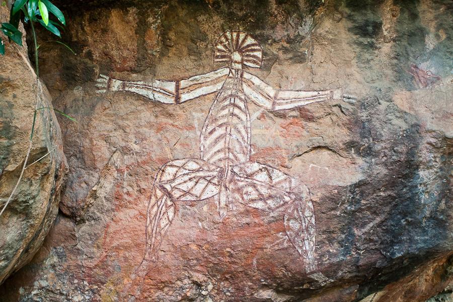 petroglyphs in kakadu park australia