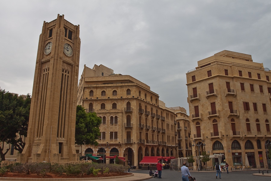 Place de l'Étoile (Nijmeh Square), Beirut, Lebanon. Площадь Этуаль-Неймех, Бейрут, Ливан