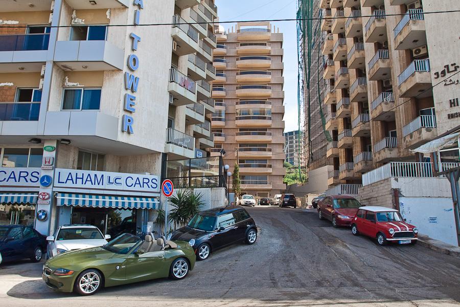 Beirut street, Lebanon. Улица Бейрута, Ливан