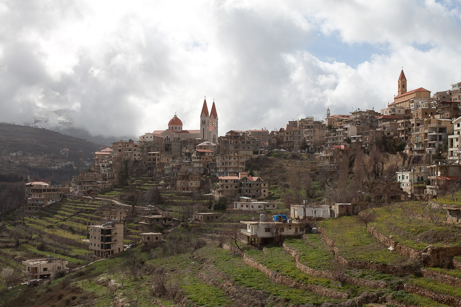 Bcharre (بشري), Lebanon. Бишари, Бшари, город в Ливане