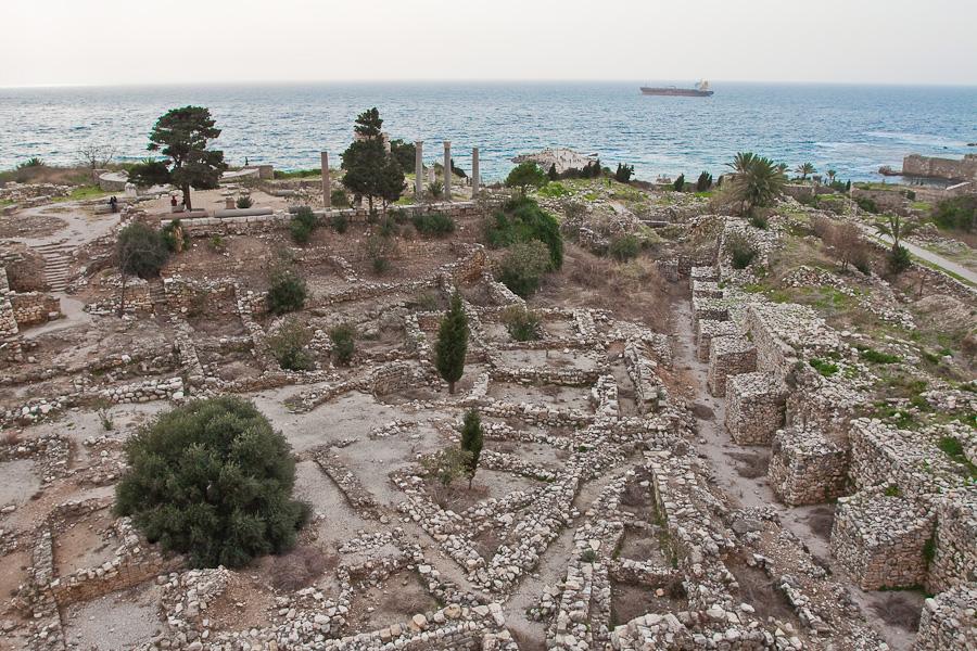 Ruins, Byblos, Lebanon. Развалины древнего Библоса, Ливан