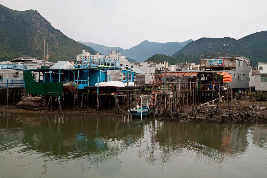 Tai O, Lantau Island, Hong Kong. Тай О, Лантау, Гонконг