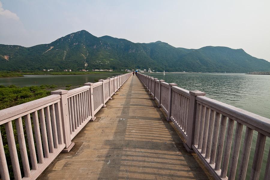 Tai O, Lantau Island, Hong Kong. Тай О, Лантау, Гонконг. Дамба. Dam
