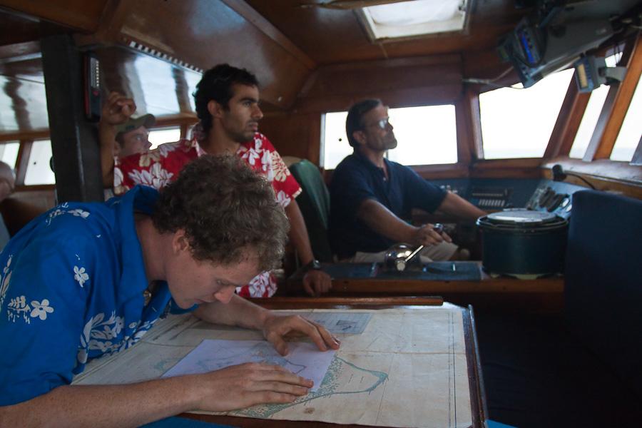 Captain Craig Markowski, Arthur, Ravid, SRV Discovery