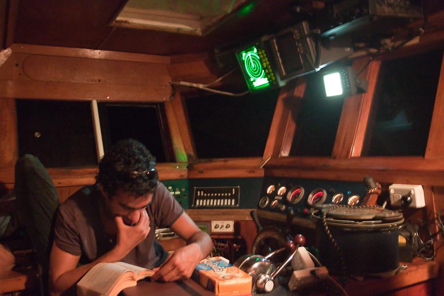 По дороге на Питкэрн. SRV Discovery, ночная вахта.