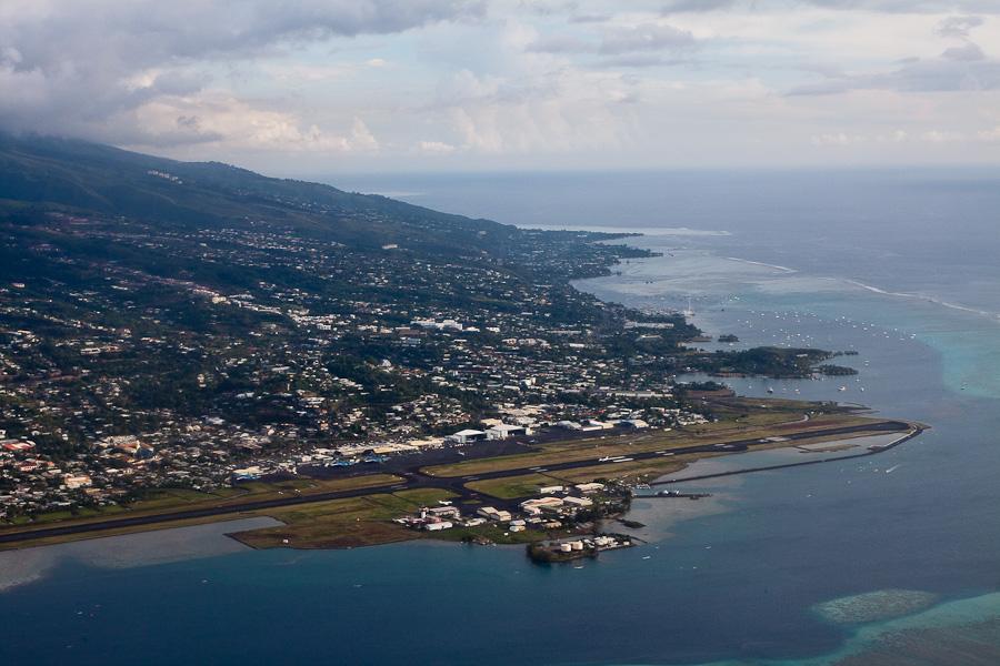Фааа (Faaa) — международный аэропорт города Папеэте, столицы Французской Полинезии, остров Таити