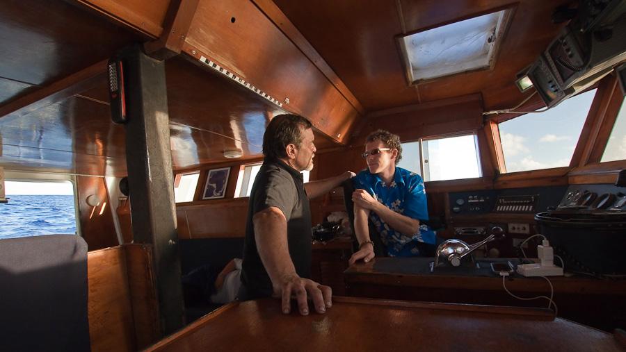 Captain Craig Markowski, Arthur, SRV Discovery
