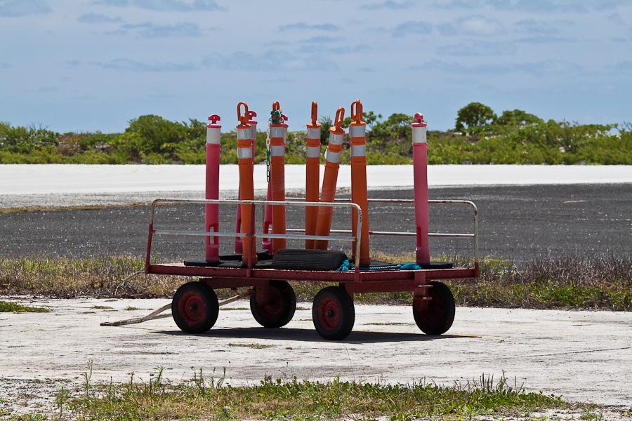 Аэропорт Мангарева, архипелаг Гамбье, Французская Полинезия