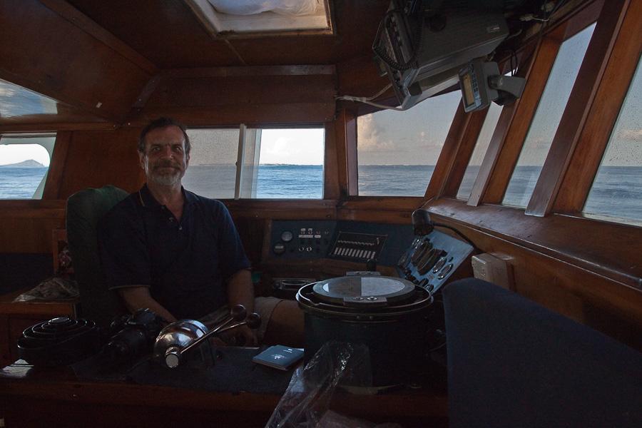 Captain Craig Markowski, SRV Discovery