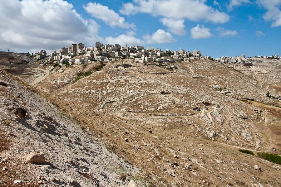 Окрестности Иерусалима в сторону Иудейской пустыни, Израиль