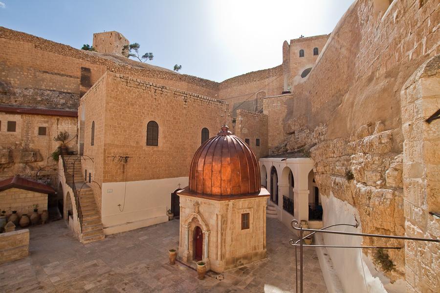 Монастырь Мар Саба, Лавра Саввы Освященного. Палестина. Mar Saba, The Holy Lavra of Saint Sabbas the Sanctified. Palestine