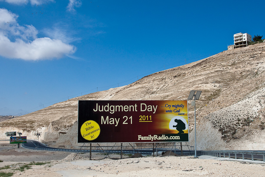 Palestine. Палестина. The Bible Guarantees It! FamilyRadio.com. Judgment Day May 21 2011. Судный день 21 мая 2011 года