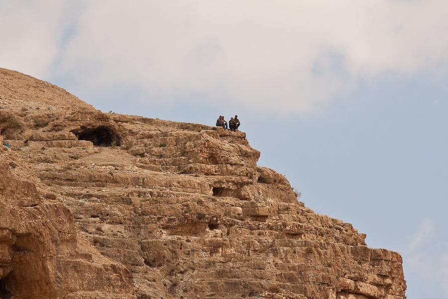 Палестинские арабы. Монастырь Мар Саба, Лавра Саввы Освященного. Mar Saba, The Holy Lavra of Saint Sabbas the Sanctified. Palestinian arabs