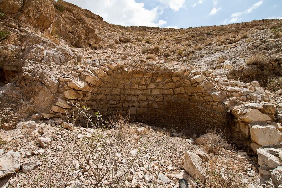 Разалины кельи около монастыря Мар Саба, Лавра Саввы Освященного.