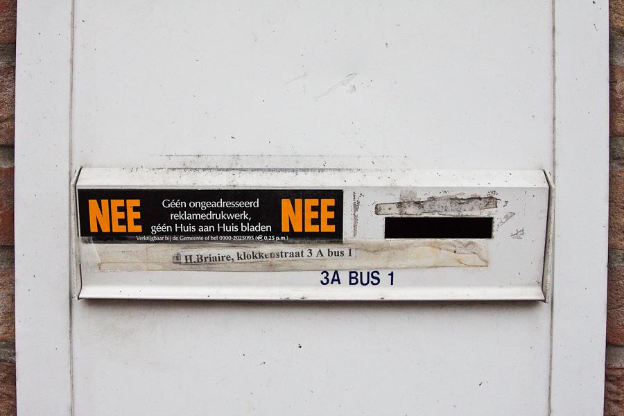 Барле. Антиспам в бельгийском городе Барле-Хертог и голландском Барле-Нассау. Baarle. Anti-spam sign in Belgian town Baarle-Hertog and Dutch town Baarle-Nassau