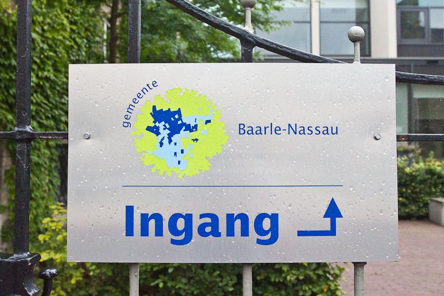 Логотип Барле-Нассау. Baarle-Nassau logo.