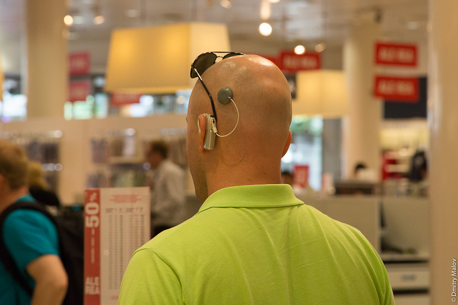 Кохлеарный имплантат. Cochlear implant.
