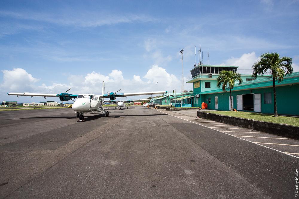 E.T. Joshua Airport (IATA: SVD, ICAO: TVSV)
