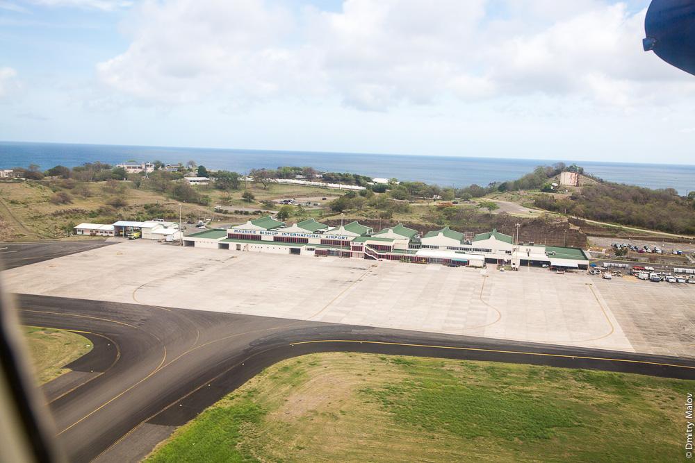 Аэропорт имени премьера Мориса Бишопа (IATA: GND), Гренада. Аэро-фото