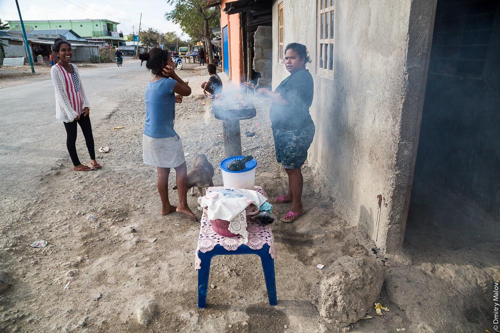 Барбекю, Баукау, Восточный Тимор