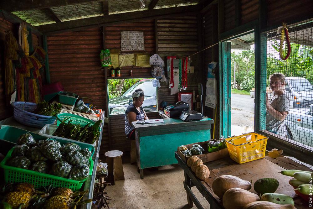 Торговля листом бетеля и орехами ареки, остров Яп, Микронезия