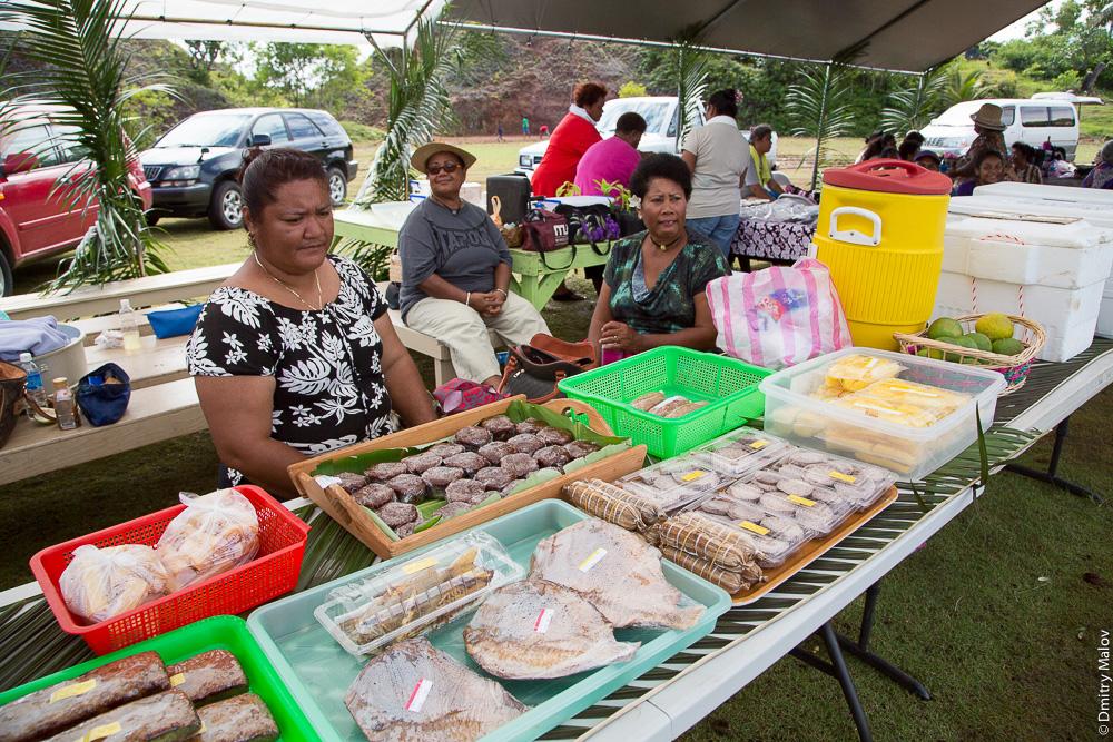 Фермерский рынок. Палау. Farmers' market, Palau