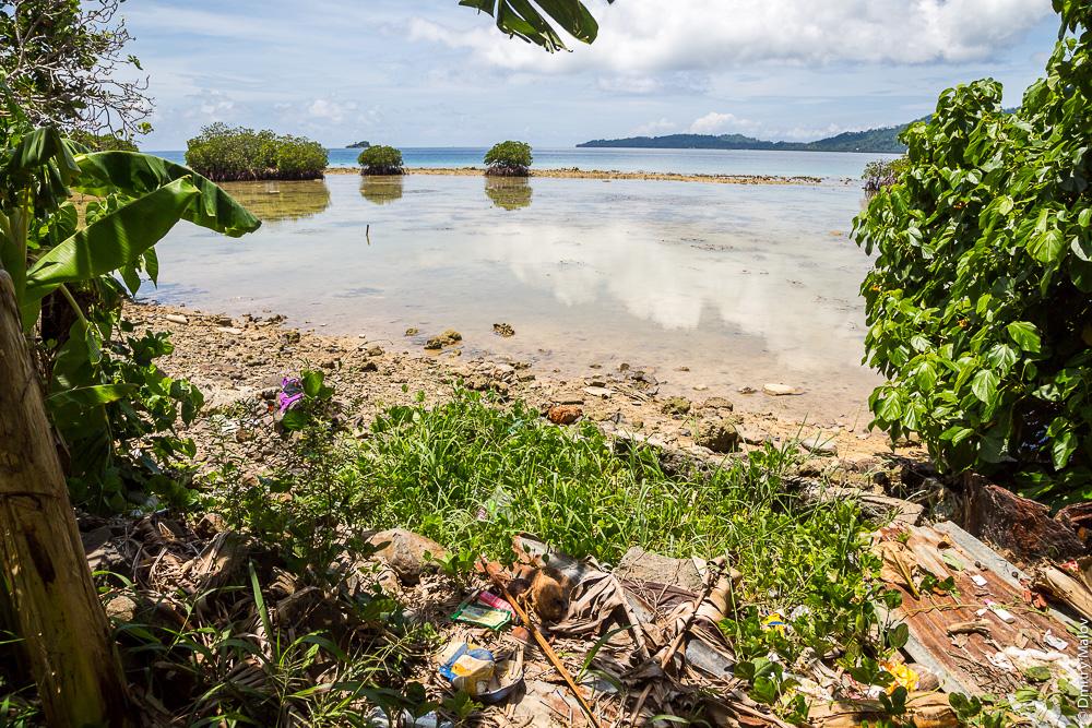 Остров Вено, лагуна Трук/Чуук, , Каролинские острова, Микронезия. Weno island, Truk/Chuuk Lagoon, Caroline Islands, Micronesia.