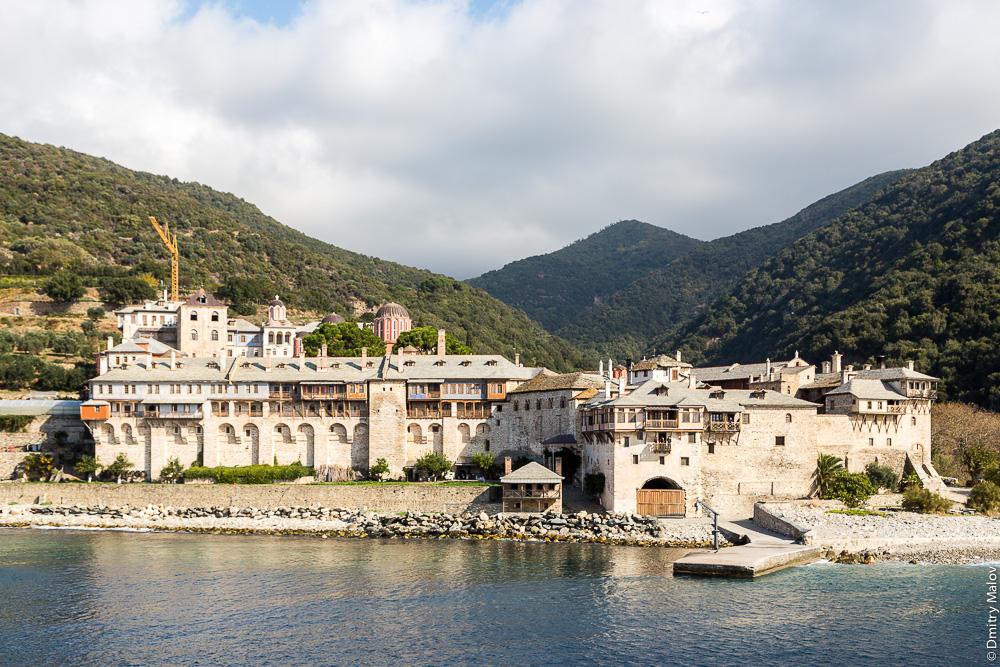 Монастырь Ксенофонт на Святой Горе Афон
