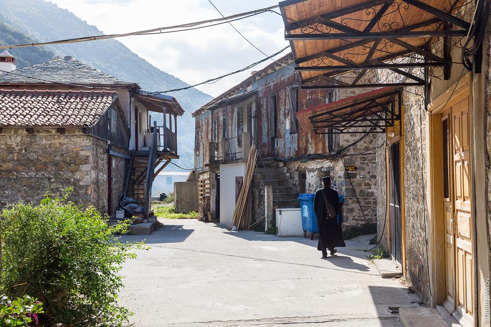 Улицы порта Дафни, Святая Гора Афон