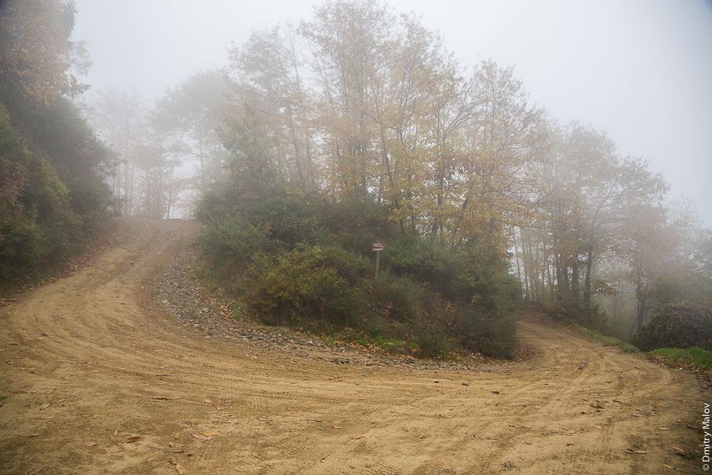 Грунтовая дорога, Святая Гора Афон