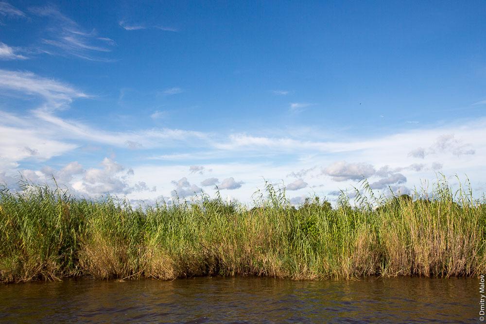 Около Водопада Виктория, Замбези, Замбия, Зимбабве. Near Victoria Falls, Zambezi, Zambia, Zimbabwe