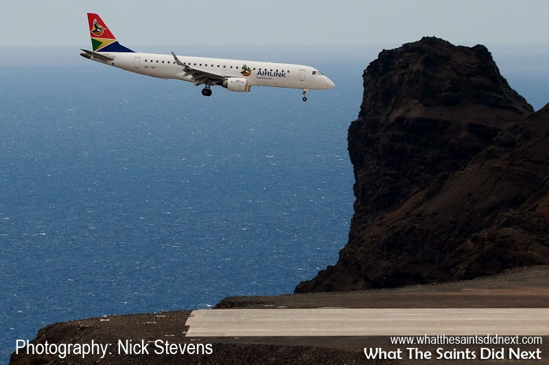 Ticket Prices for Flights to St Helena have been announced after SA Airlink, completed a successful proving flight to the island on 21 August, 2017 with an Embraer E190, the aircraft which will be used on the route.