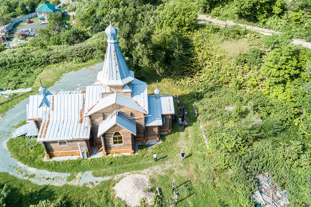 Церковь Рождества Пресвятой Богородицы, Невельск, Сахалин. Church of the Nativity of the Blessed Virgin Mary, Nevelsk, Sakhalin