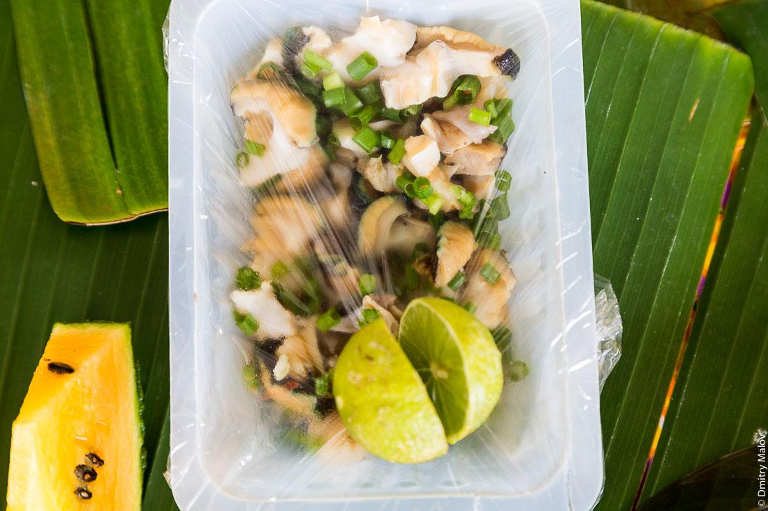 maua clam polynesian seafood