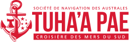Logo of Société de Navigation des Australes and Tuhaa Pae IV