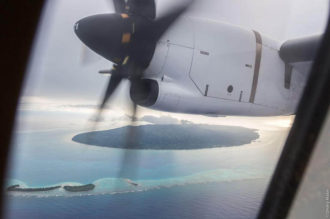 Внешние моту. Остров Раиваваэ, архипелаг Острал (Тубуаи). Raivavae island, Astral (Tubuai) Islands, French Polynesia. Outer motu.