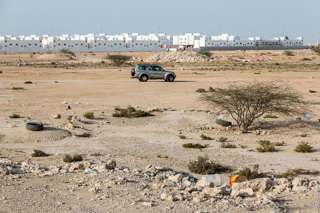 Город Умм-Салал-Мохаммед, Катар. Umm Salal Mohammed town, Qatar