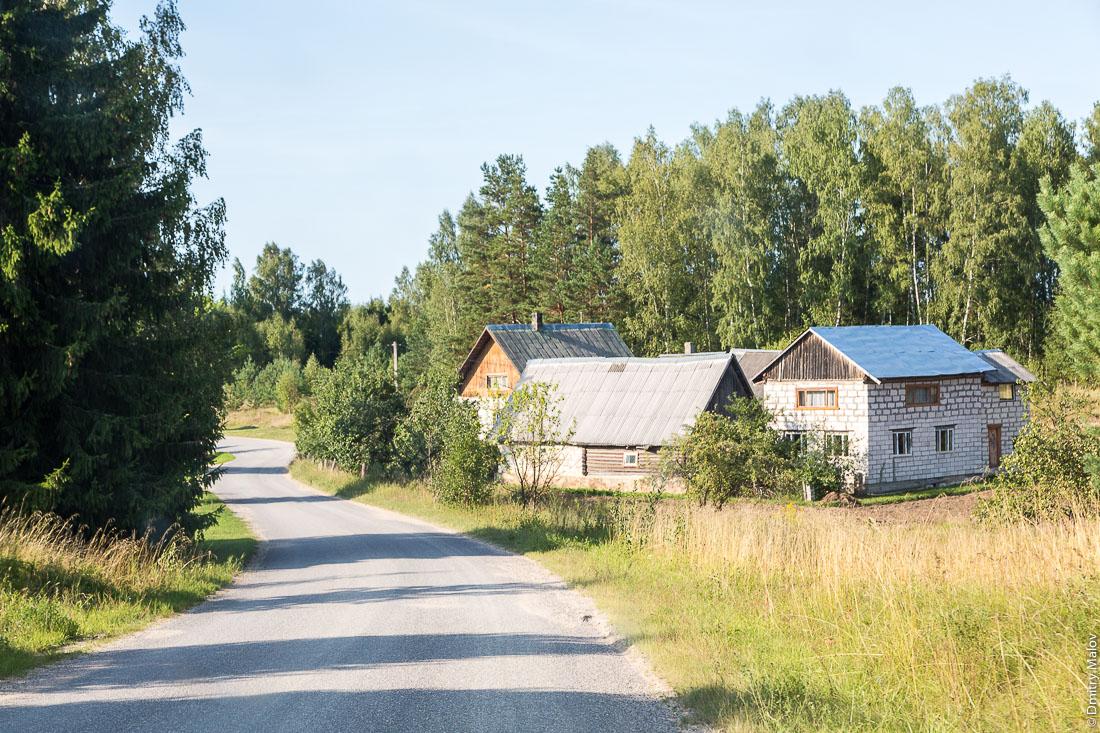 Sesniki, Eesti/Estonia. Деревня Сесники, Эстония.