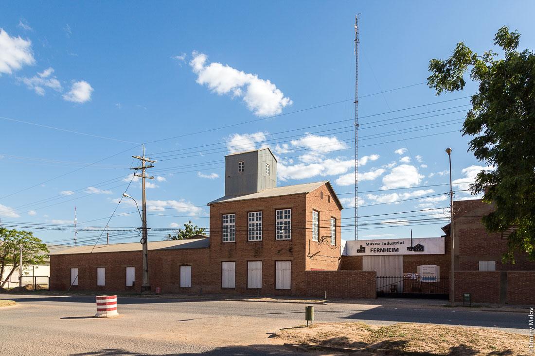 Центр города Филадельфия, Гран-Чако, Парагвай. Filadelfia city centre, Gran Chaco, Paraguay