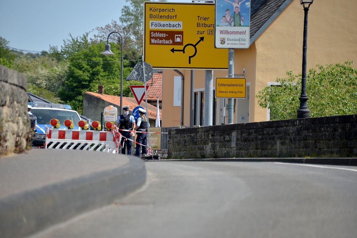 Закрытие госграницы Люксембург - Германия (на фото: Эхтернахербрюк) в течение нескольких дней вызывает недовольство вдоль Зауэра, Мозеля и Ура