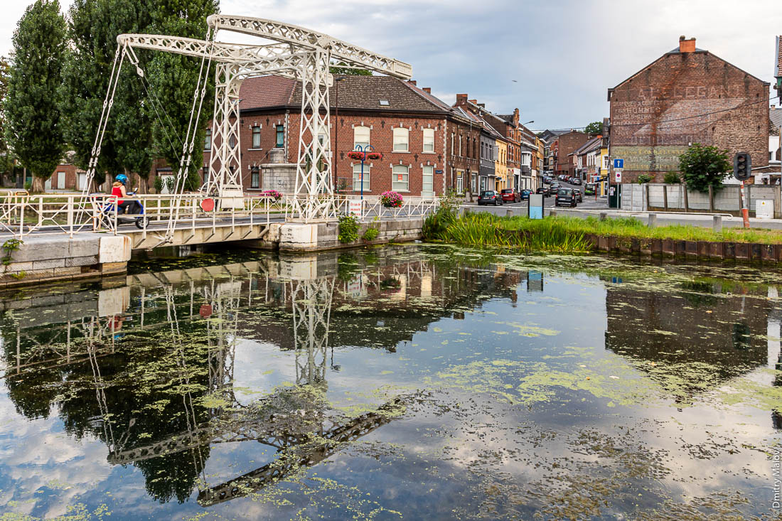 Разводной мост, Центральный канал, Бельгия