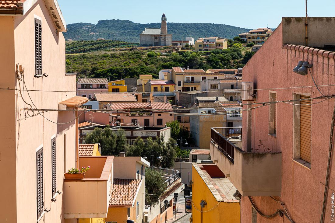 Город Кастельсардо, Сардиния, Италия